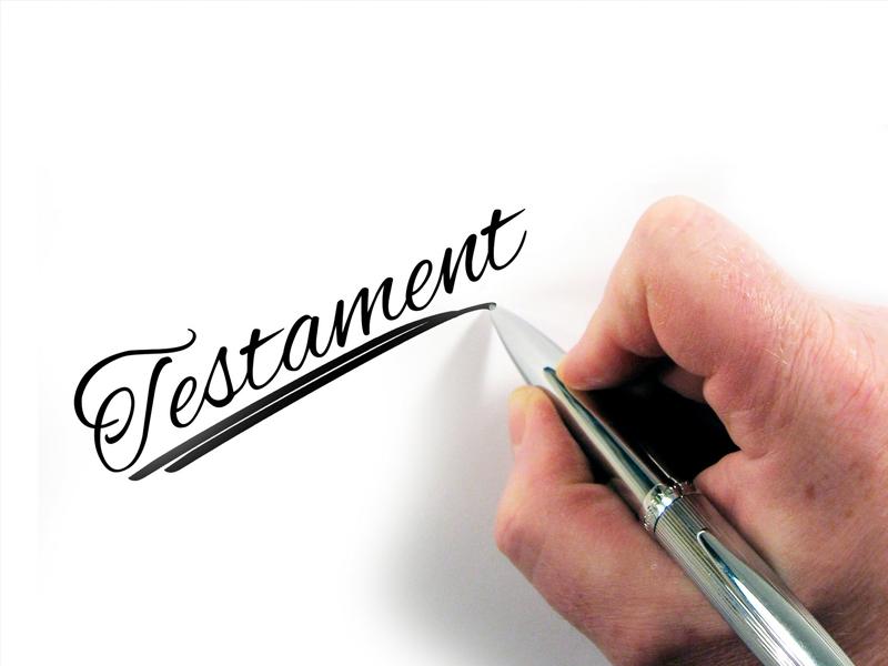 Heeft u alles goed vastgelegd in een testament?