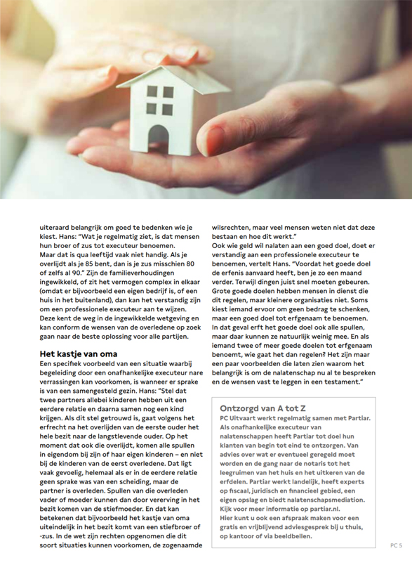 PC Uitvaart nieuwsmagazine interview Partiar 2