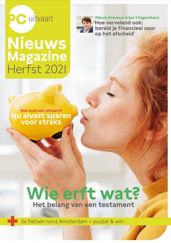 PC Uitvaart Interview Partiar voorpagina
